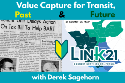 Value Capture for Transit: Past and Future, with Derek Sagehorn